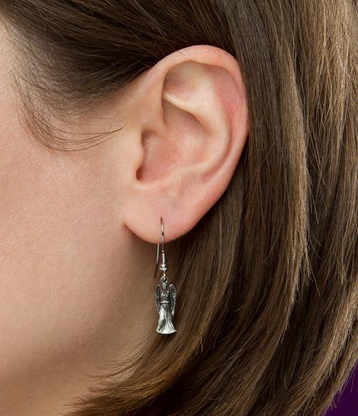 Doctor Who Weeping Angel Earrings