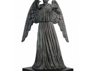 Doctor Who Weeping Angel Flesh and Stone Statue