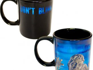 Doctor Who Weeping Angel Heat-Changing Mug