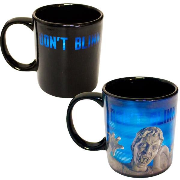 Doctor Who Weeping Angel Heat-Changing Mug