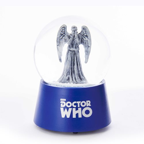 Doctor Who Weeping Angel Musical 5-Inch Water Globe