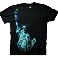 Doctor Who Weeping Angel Statue Of Liberty Shirt