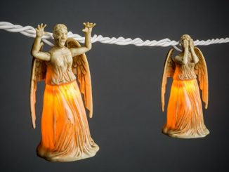 Doctor Who Weeping Angel String Lights