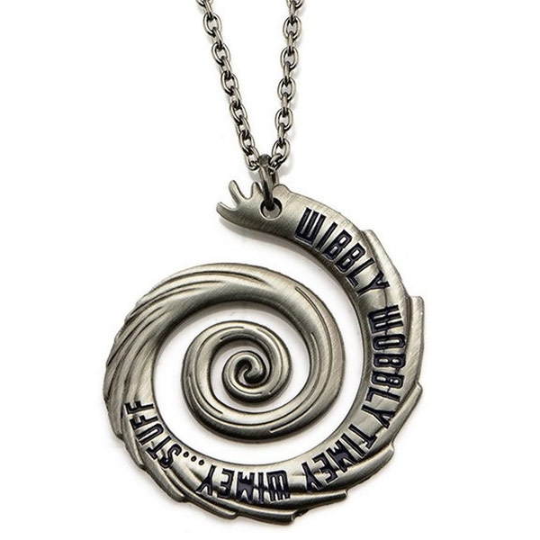 Doctor Who Wibbly Wobbly Timey Wimey Pendant