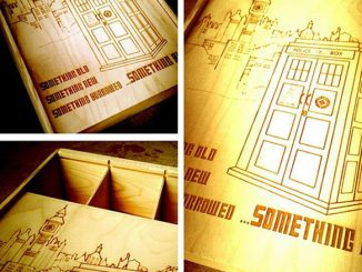 Doctor Who Wine Box
