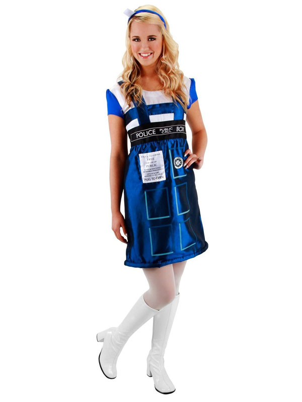 Doctor Who Womens TARDIS Dress