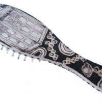 Doctor Who Wooden Hairbrush