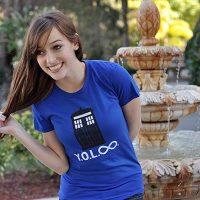 Doctor Who YOL Infinity Girl TShirt