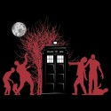 Doctor Who Zombies Have the Box Shirt
