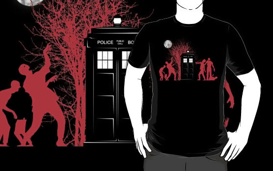 Doctor Who Zombies Have the Box TShirt