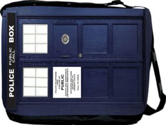 Doctor WhoTardis Phone Booth Messenger Bag