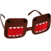 Domo Fuzzy Glasses