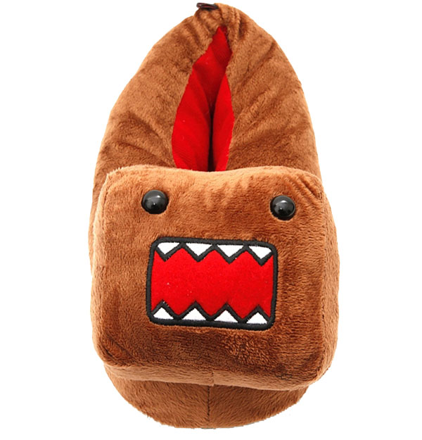 Domo Head Plush Slippers