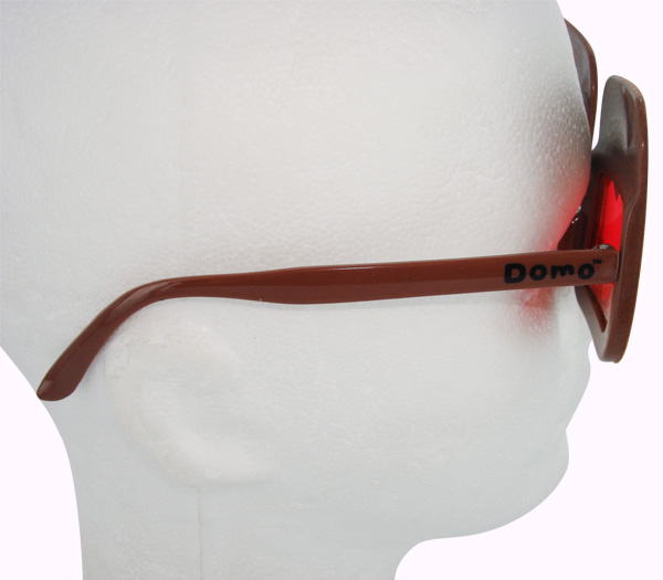 Domo Kun Fuzzy Face Glasses