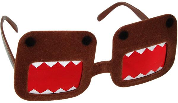 Domo Kun Fuzzy Glasses