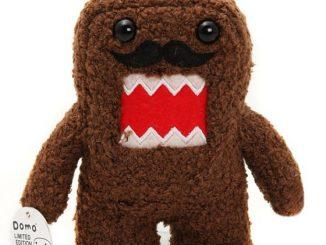 Domo Mustache Plush