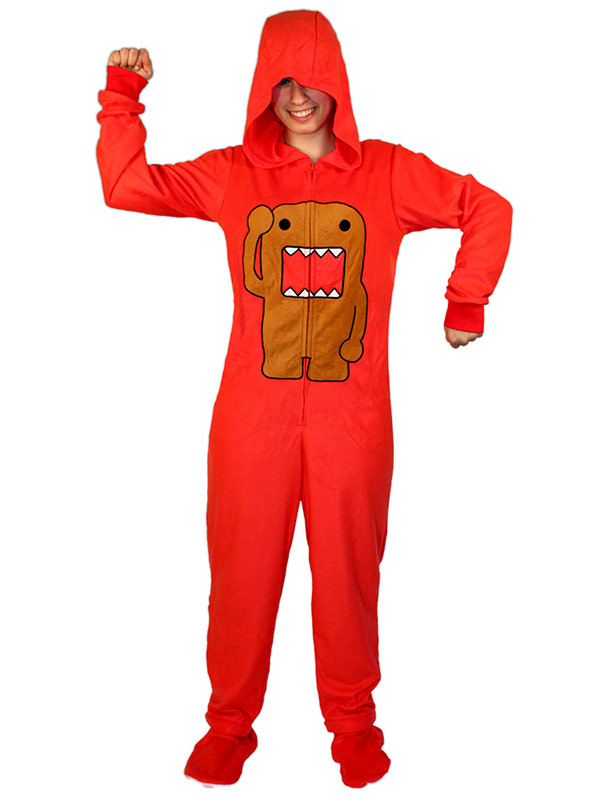 ffc911a7b4 50% off Footed Hooded Adult Costume Pajamas