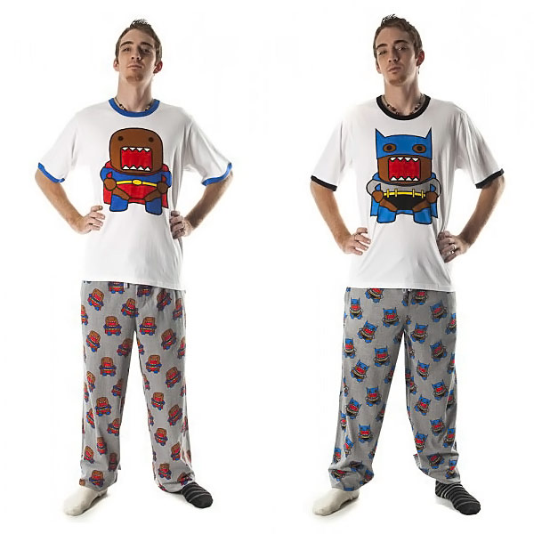 Domo Superhero Pajama Set