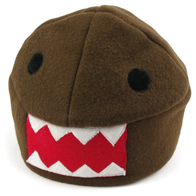 Domo-kun Plush Hat