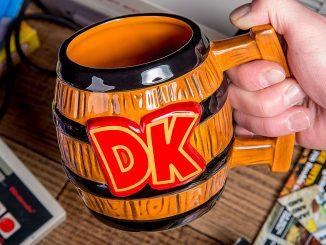 Donkey Kong Barrel Mug