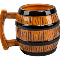 Donkey Kong Barrel Mug Back