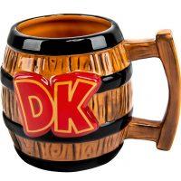 Donkey Kong Barrel Mug Front