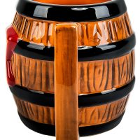 Donkey Kong Barrel Mug Side