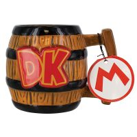 Donkey Kong Barrel Mug Tag