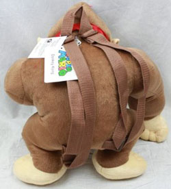 Donkey Kong Plush Mini Backpack