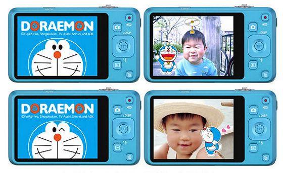 Doraemon Limited Edition Casio EXILIM EX-Z800