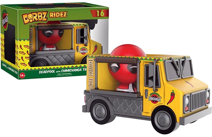 Dorbz Ridez Deadpool Chimichanga Truck