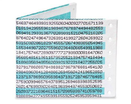 Dot Matrix Pi Mighty Wallet