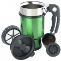 Double Shot French Press Travel Mug