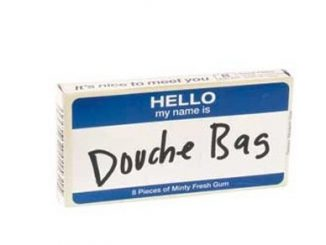 Douchebag Gum
