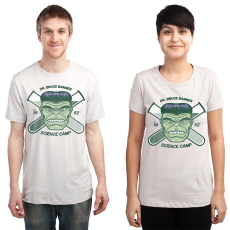 Dr Bruce Banner Science Camp Shirt