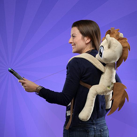 Dr Hooves Plush Backpack