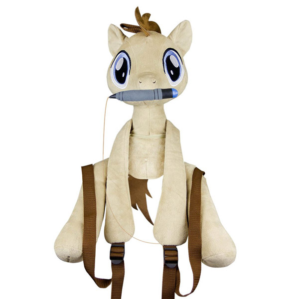 Dr Hooves Plush MLP Backpack