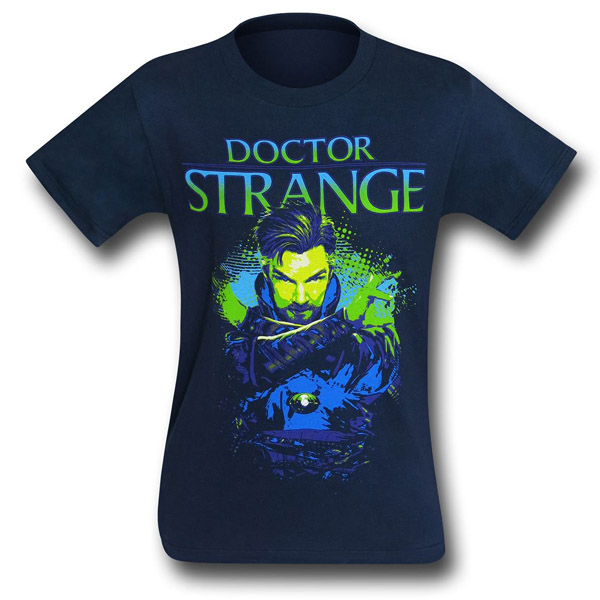 Dr Strange By the Powers Mens T-Shirt
