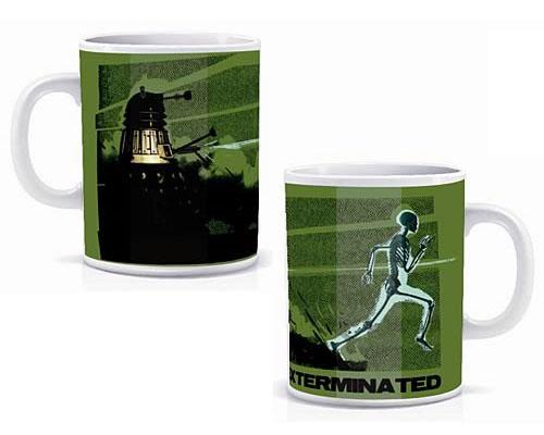 Dr Who Heat Changing Skeleton Mug