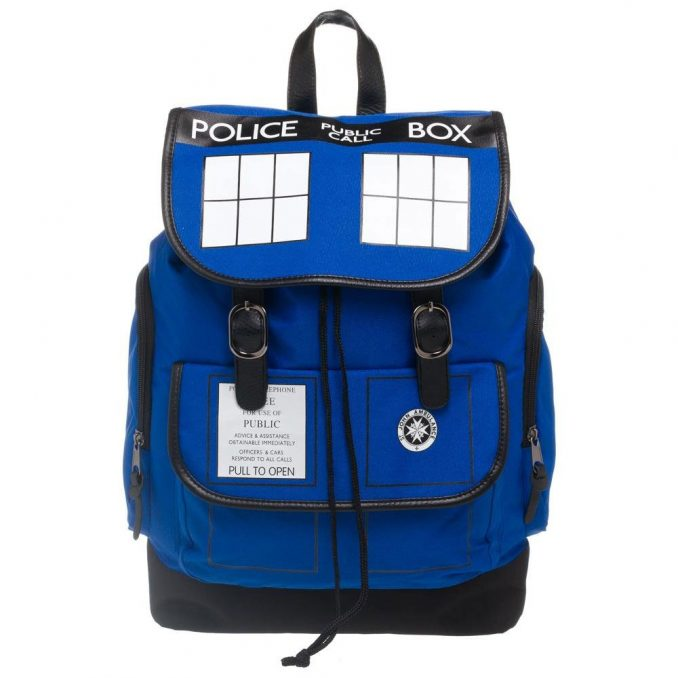 Dr Who TARDIS Backpack