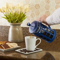 Dr Who TARDIS French Coffee Press