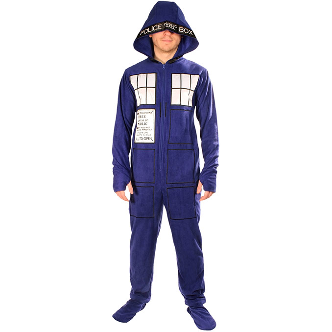 Dr Who TARDIS Pajamas