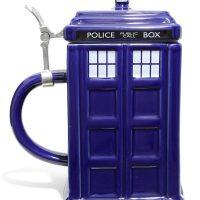 Dr Who TARDIS Stein