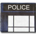 Dr Who Tardis Tyvek Wallet