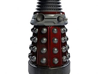 Dr. Who Red Dalek Cardboard Standup