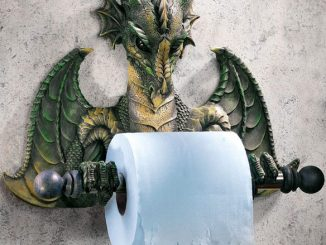 Dragon Bath Tissue Holder