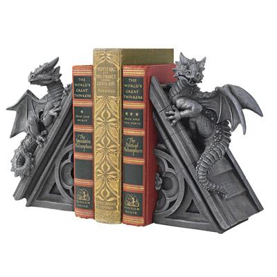 Castle Dragon Bookends