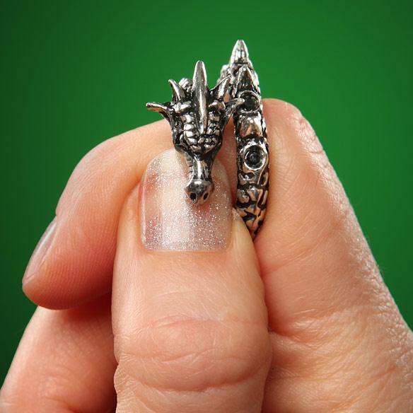 Dragon-Wrap-pewter-Ring