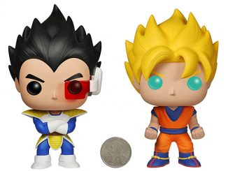 Dragonball Z Pop Vinyl Figures