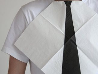 Dress for Dinner Necktie Napkins